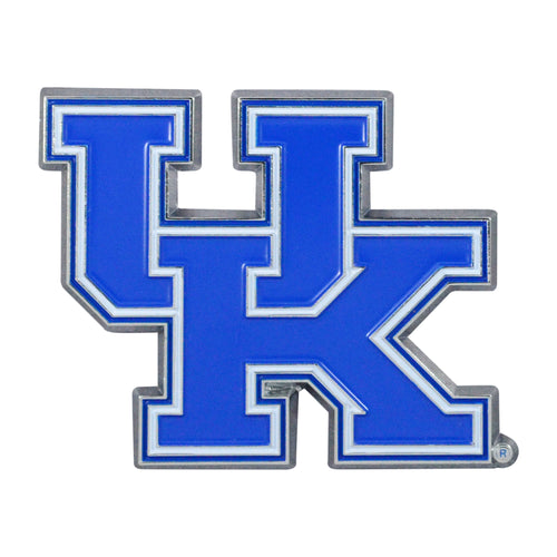 University of Kentucky Color Chrome Car Emblem
