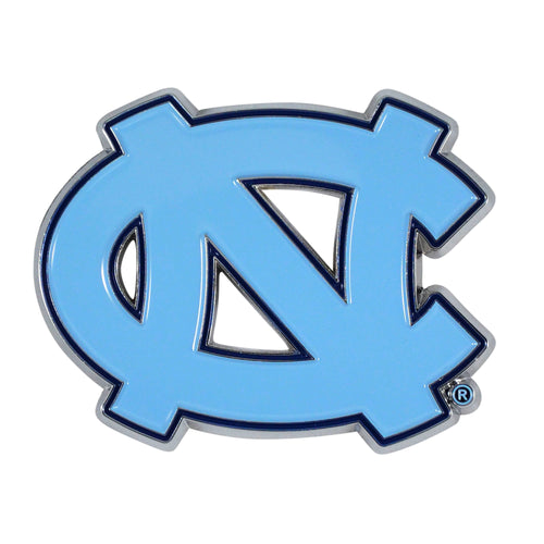 University of North Carolina Color Chrome Car Emblem