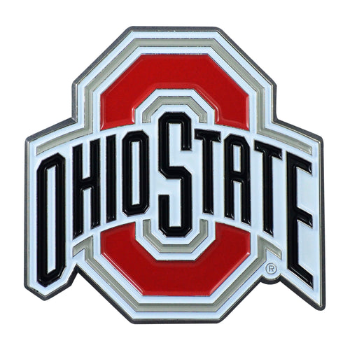 Ohio State University Color Chrome Car Emblem