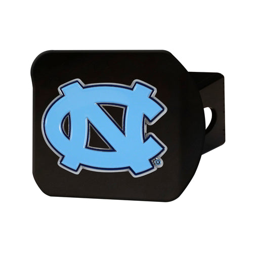 University of North Carolina Black Hitch Cover with Color Emblem