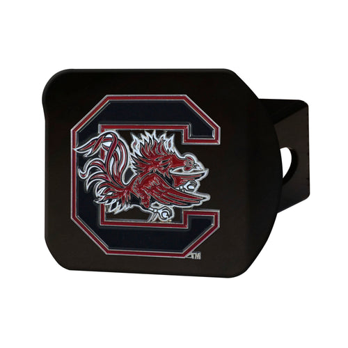 University of South Carolina Black Hitch Cover with Color Emblem