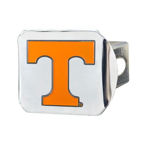 University of Tennessee Chrome Hitch Cover with Color Emblem