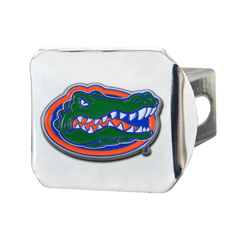 University of Florida Chrome Hitch Cover with Color Emblem
