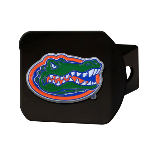 University of Florida Black Hitch Cover with Color Emblem