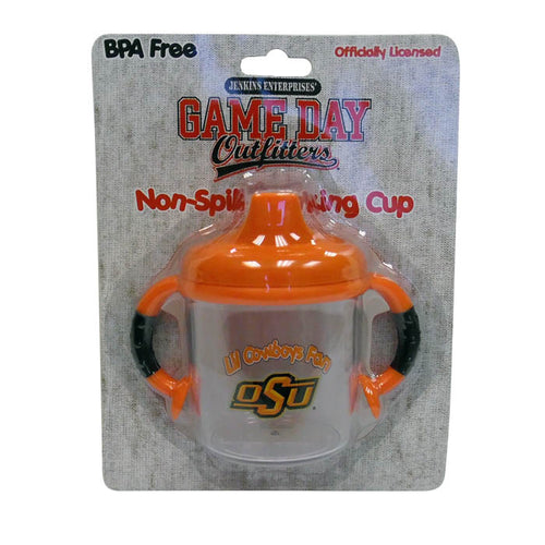 Lil Oklahoma State Cowboys Fan No Spill Sippy Cup