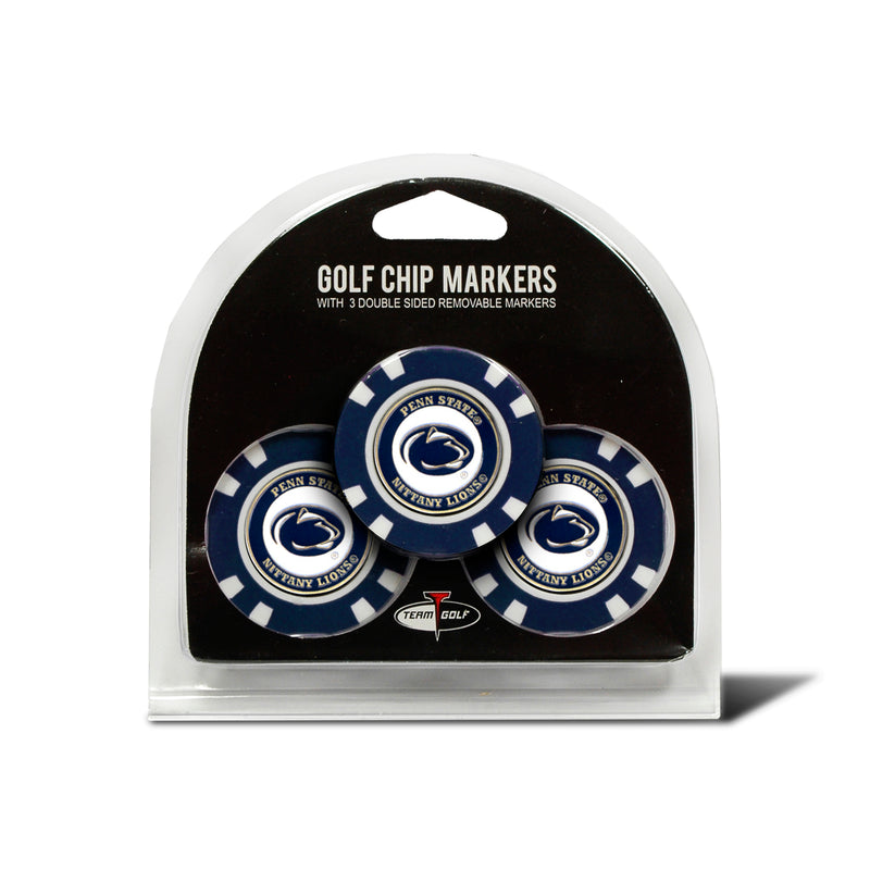 Penn State University 3 Pack Golf Chip Ball Markers