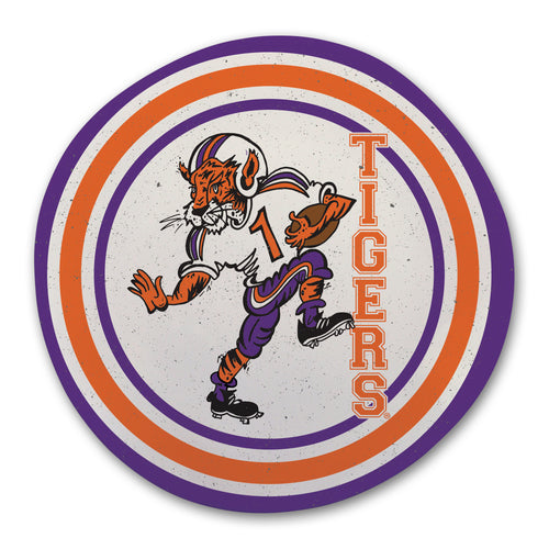 Clemson University Heavy Weight Melamine Plate