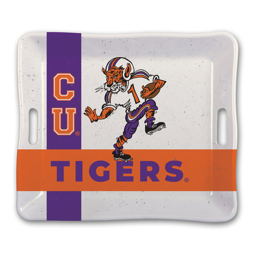 Clemson University Heavy Weight Melamine Tray