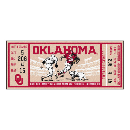 University of Oklahoma Ticket Runner