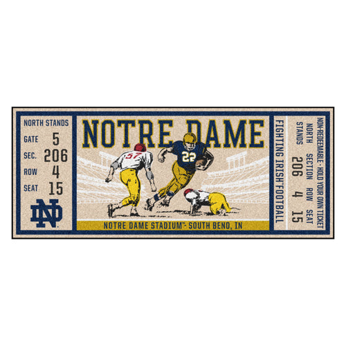 University of Notre Dame Ticket Runner