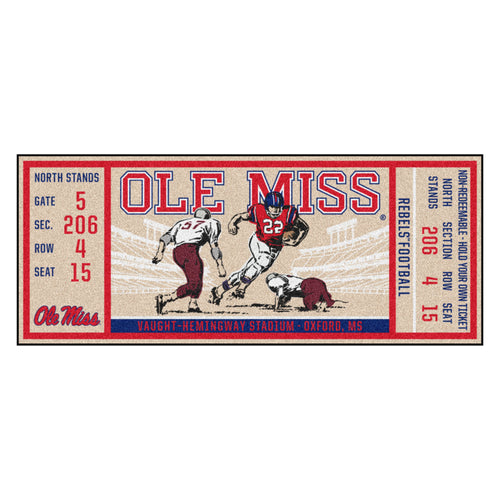 University of Mississippi Ticket Runner