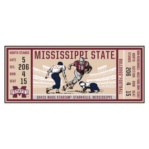 Mississippi State University Ticket Runner