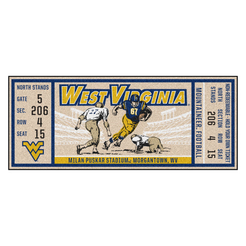 West Virginia University Ticket Runner