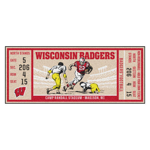 University of Wisconsin Ticket Runner