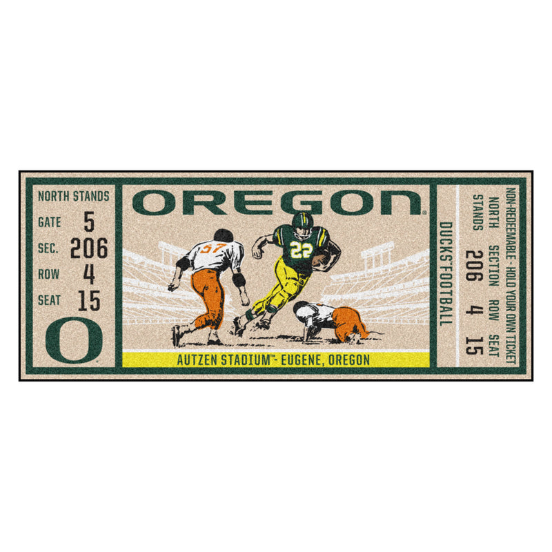 University of Oregon Ticket Runner