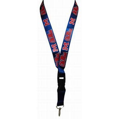 University of Mississippi Keychain Lanyard