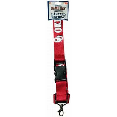 University of Oklahoma Keychain Lanyard