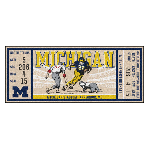 University of Michigan Ticket Runner