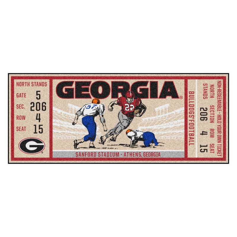 University of Georgia Ticket Runner