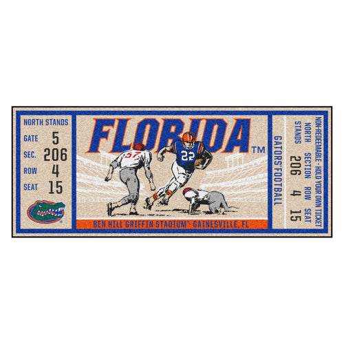 University of Florida Ticket Runner