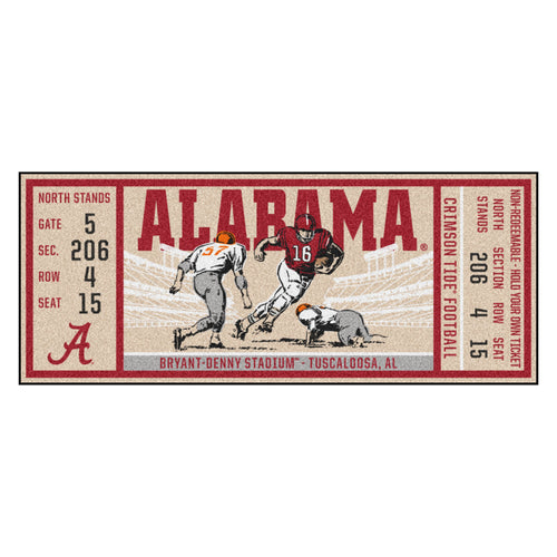 University of Alabama Ticket Runner