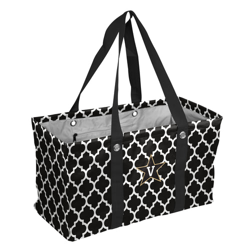 Vanderbilt University Quatrefoil Picnic Caddy