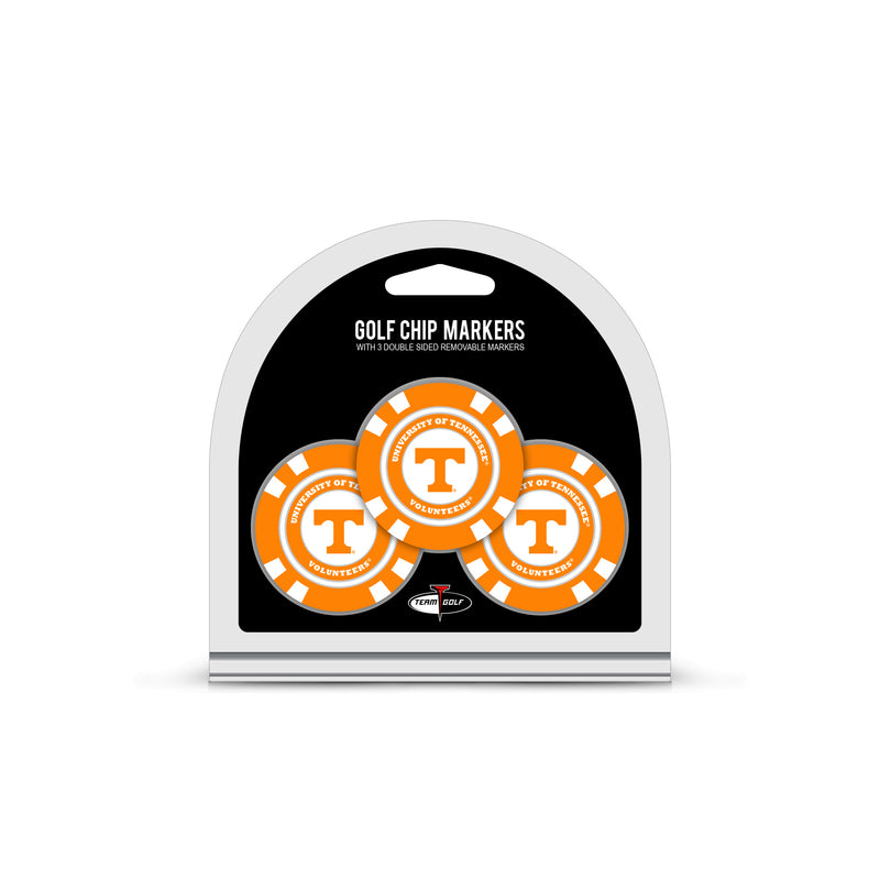University of Tennessee 3 Pack Golf Chip Ball Markers
