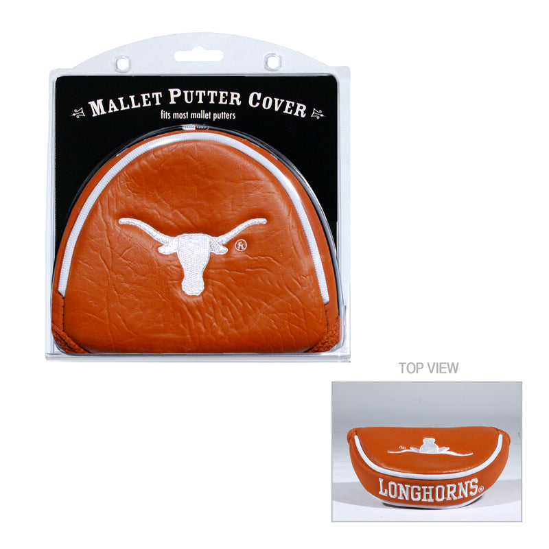 University of Texas Mallet Putter Cover