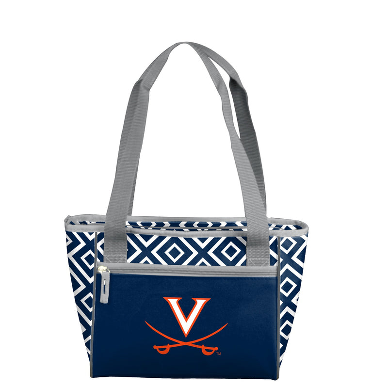 University of Virginia  Double Diamond 16 Can Cooler Tote