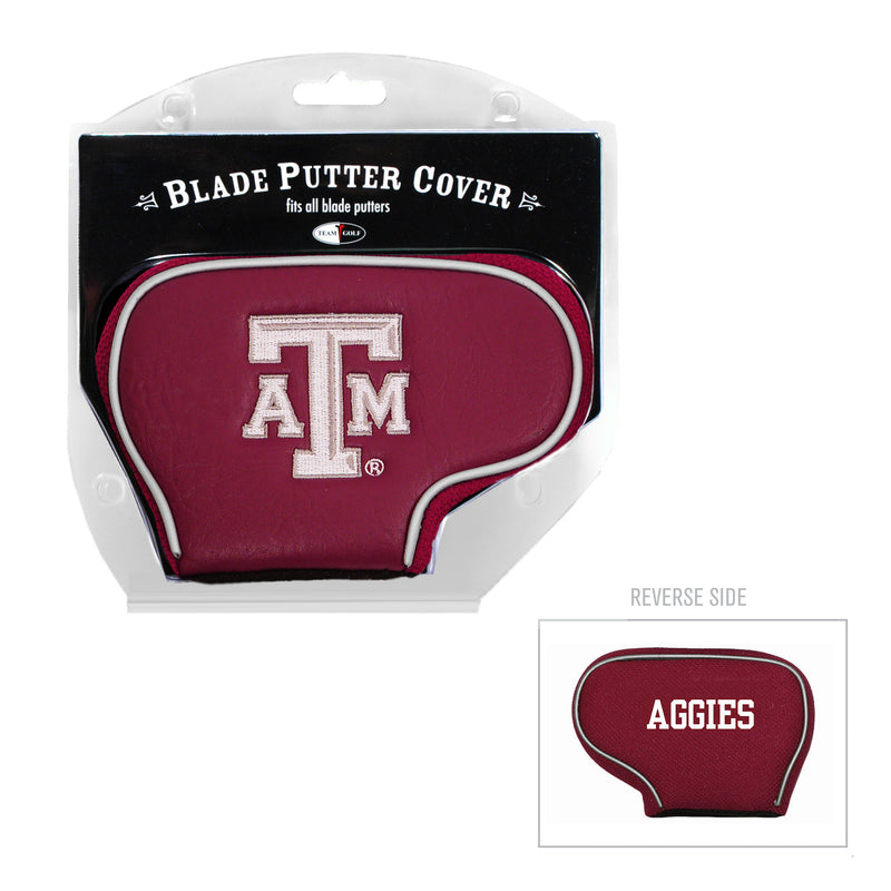 Texas A&M University Blade Putter Cover