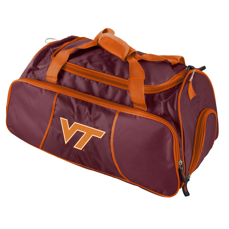 Virginia Tech University Athletic Duffle Bag