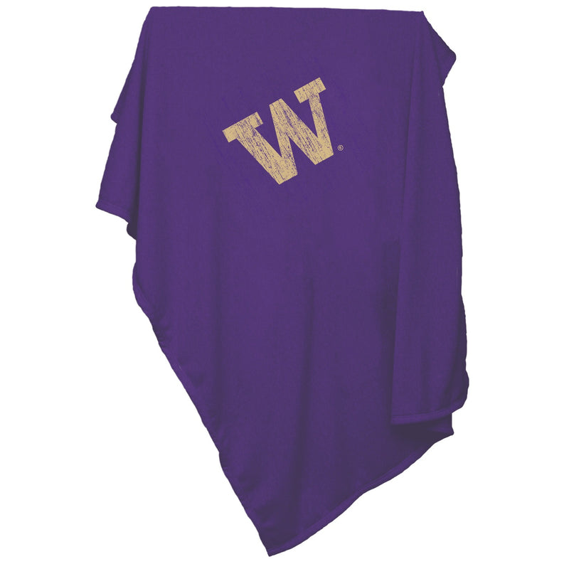 University of Washington Huskies Sweatshirt Blanket