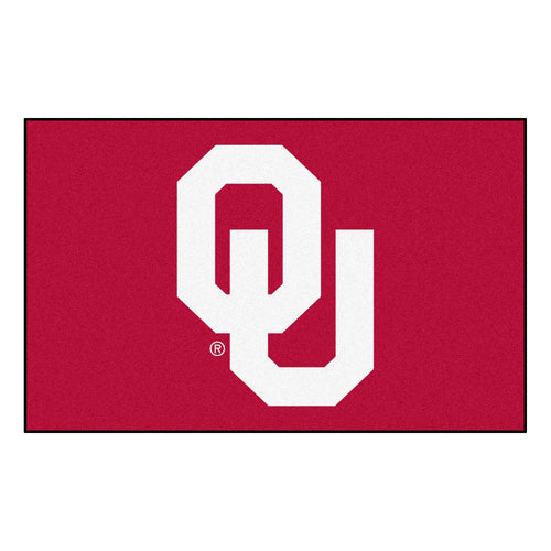 University of Oklahoma Logo Area Rug