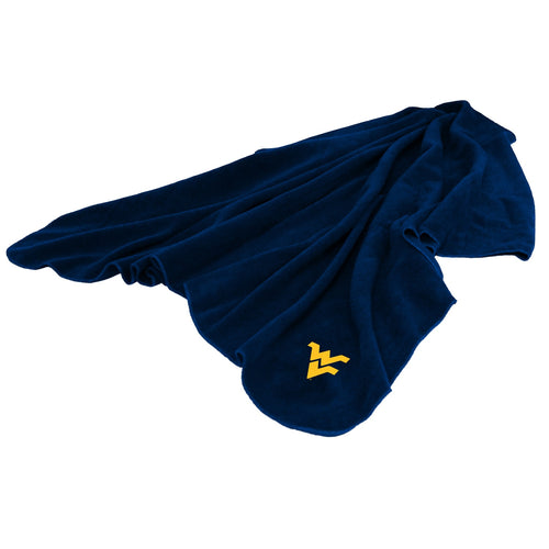 West Virginia University Huddle Blanket