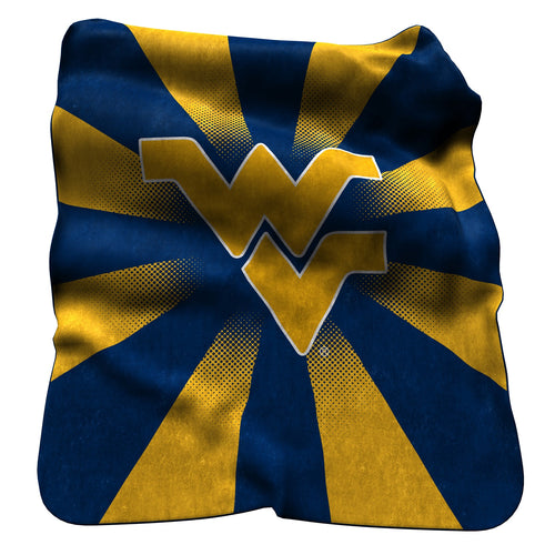 West Virginia University Raschel Blanket
