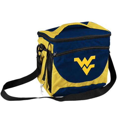West Virginia University 24 Can Cooler