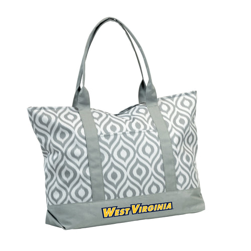West Virginia University Ikat Tote