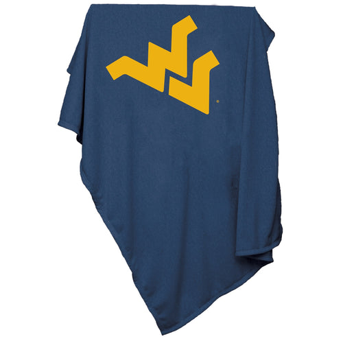 West Virginia University Sweatshirt Blanket