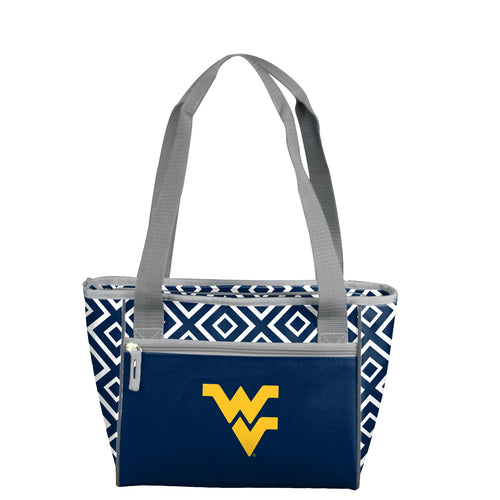 West Virgina University Double Diamond 16 Can Cooler Tote