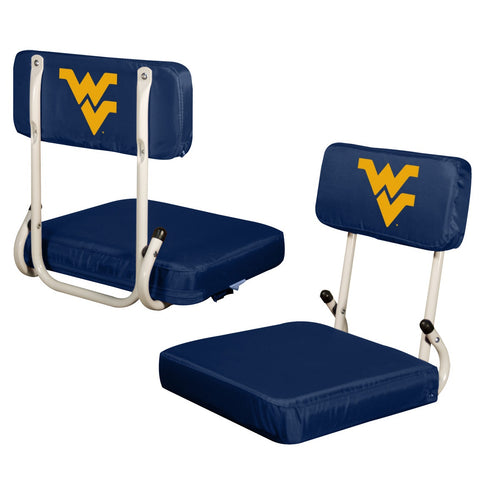 West Virginia University Hard Back Stadium Chair