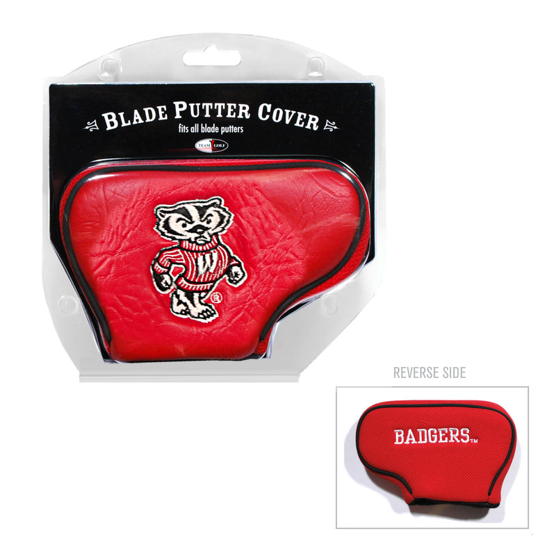 University of Wisconsin Blade Putter Cover