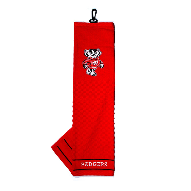University of Wisconsin Embroidered Golf Towel