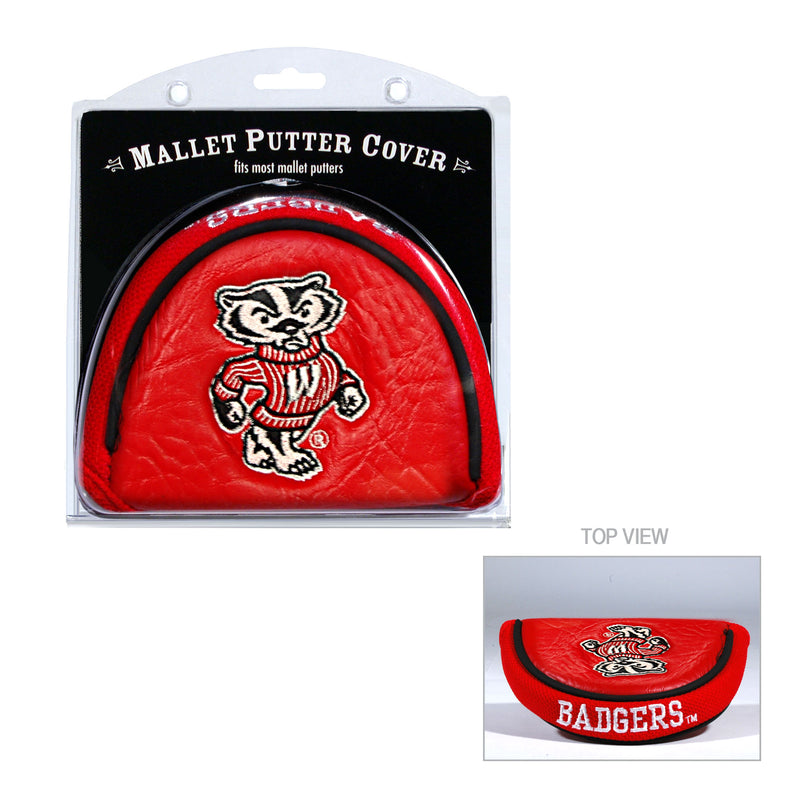 University of Wisconsin Mallet Putter Cover