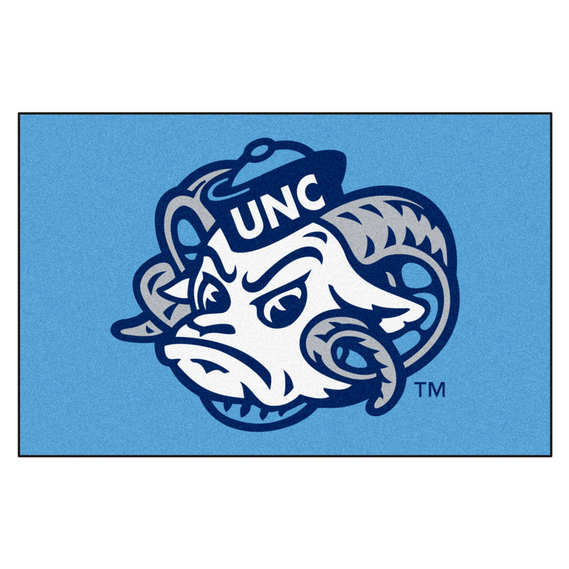 University of North Carolina Tar Heels Logo Area Rug