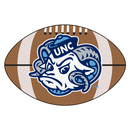 University of North Carolina Tar Heels Football Area Rug