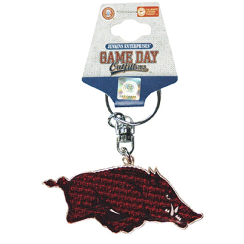 University of Arkansas Emblem Keychain