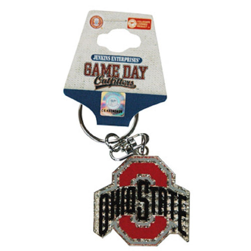 Ohio State University Emblem Keychain