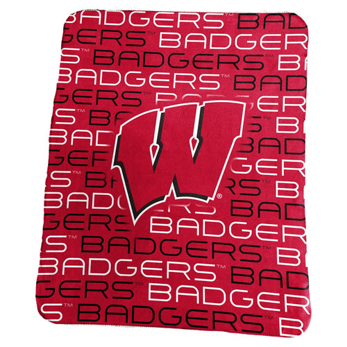 University of Wisconsin Classic Fleece Lightweight Blanket