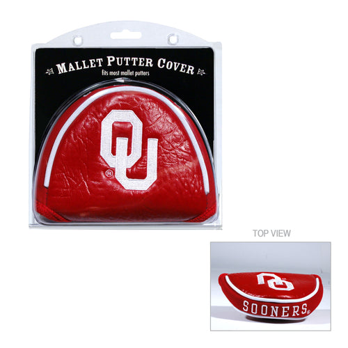 University of Oklahoma Mallet Putter Cover