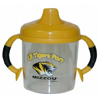 Lil Missouri Tigers Fan No Spill Sippy Cup